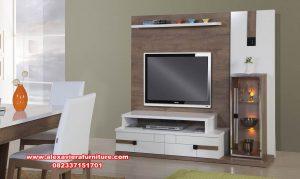 Set bufet tv minimalis apartemen style Ah-276