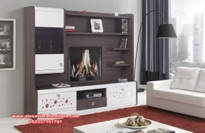 Set bufet tv minimalis model partisi ikea modern Ah-274