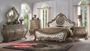 set kamar tidur utama mewah klasik vintage skt-264