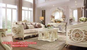 set kursi sofa ruang tamu klasik ukiran mewah mebel Jepara Kt-501
