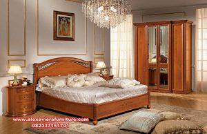kamar set pengantin klasik kayu jati jepara skt-276