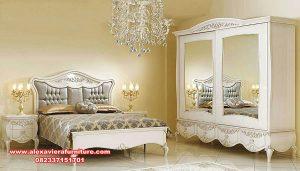 set kamar tidur super mewah duco putih skt-275