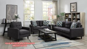 Model sofa tamu kecil modern minimalis toto Kt-516