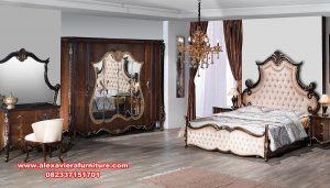 Set kamar tidur mewah ertugrul kayu jati Skt-290