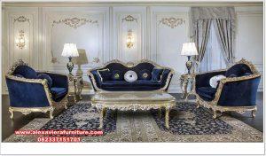 Set sofa ruang tamu ukiran duco model terbaru mewah Kt-510