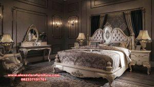 Set tempat tidur classic mewah corbel monalisa Skt-289