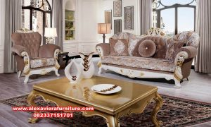 Model sofa ruang tamu phoenix klasik termewah Kt-530
