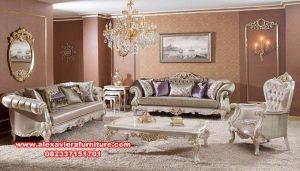 sofa kursi ruang tamu mewah finishing duco nazeera kt-529