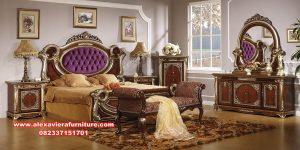 set tempat tidur klasik mewah manohara bed room skt-304