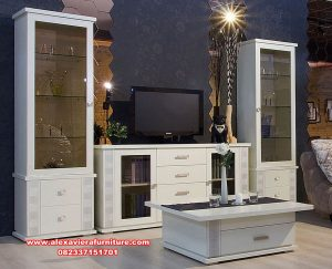 jual set bufet tv modern farm house berkualitas ah-305