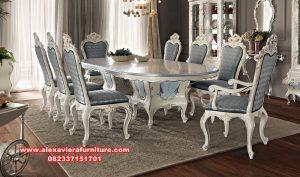 set dining table luxury classic mahoganny km-543