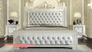 set tempat tidur pengantin termewah model eropa terbaru skt-339
