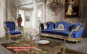 Set sofa kursi ruang tamu mewah putana klasik Kt-576