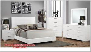 Kamar set putih modern clever Skt-347
