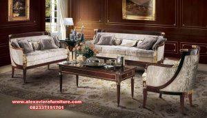 model kursi sofa tamu klasik kualitas terbaik kt-582