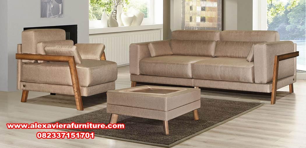 Sofa Ruang Tamu Minimalis Modern Model Klasik Kt 380