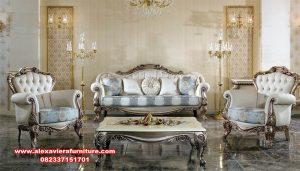 Kursi tamu sofa modern mewah terbaru king malik Kt-507